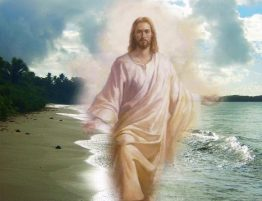 Jesus-Walking-On-the-Beach-Picture